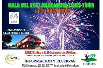 2017 ANDALUCIA TENIS TOUR – GALA DE CLAUSURA